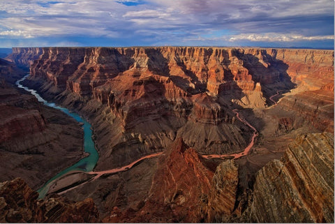 Grand Canyon National Park Metal Prints - Confluence