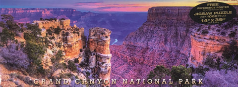 Grand Canyon National Park 1000 pc Panoramic Puzzle