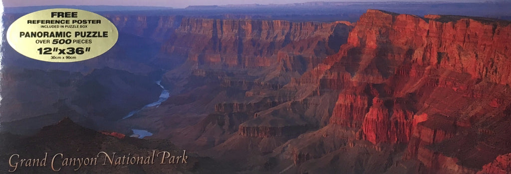 Grand Canyon National Park 500 Piece Panoramic Puzzle