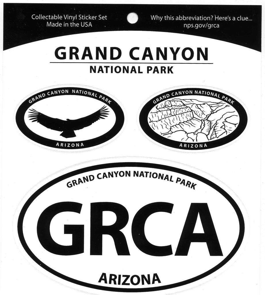 Grand Canyon National Park Triple Decal