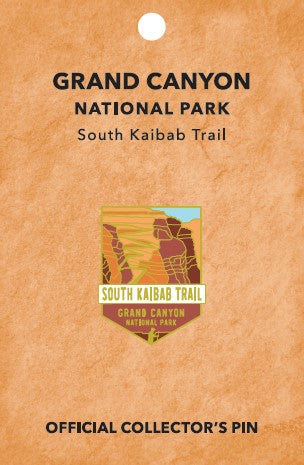 South Kaibab Trail: Grand canyon National Park Pin