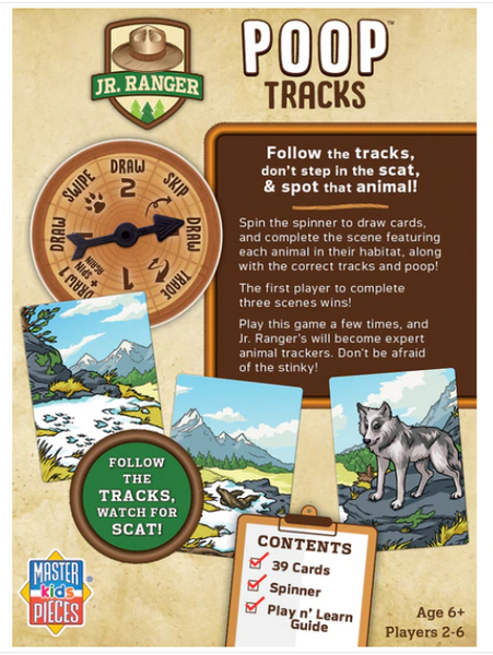 Poop Tracks Card Game