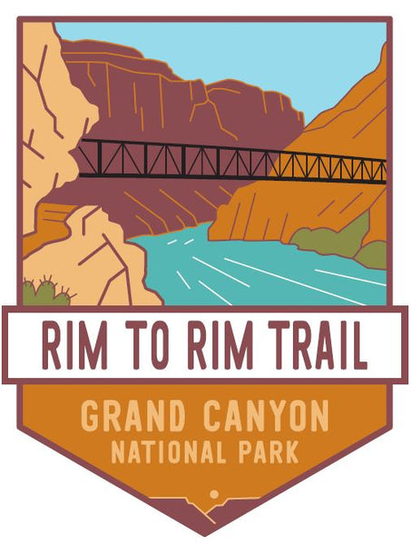 Rim to Rim: Grand Canyon National Park Pin