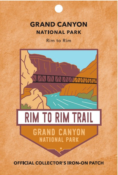 Rim to Rim: Grand Canyon National Park Patch