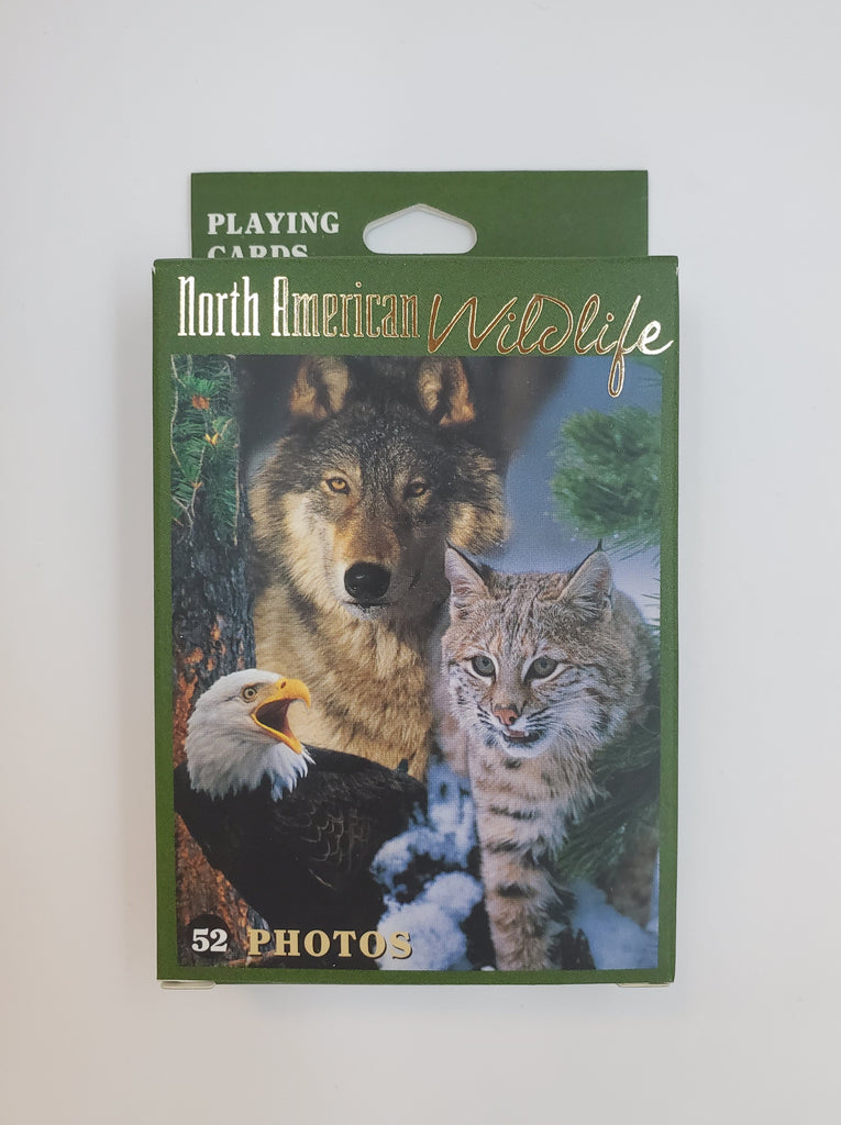 Wildlife Playing Cards