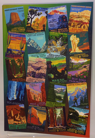 National Parks Poster Art of the WPA Journal