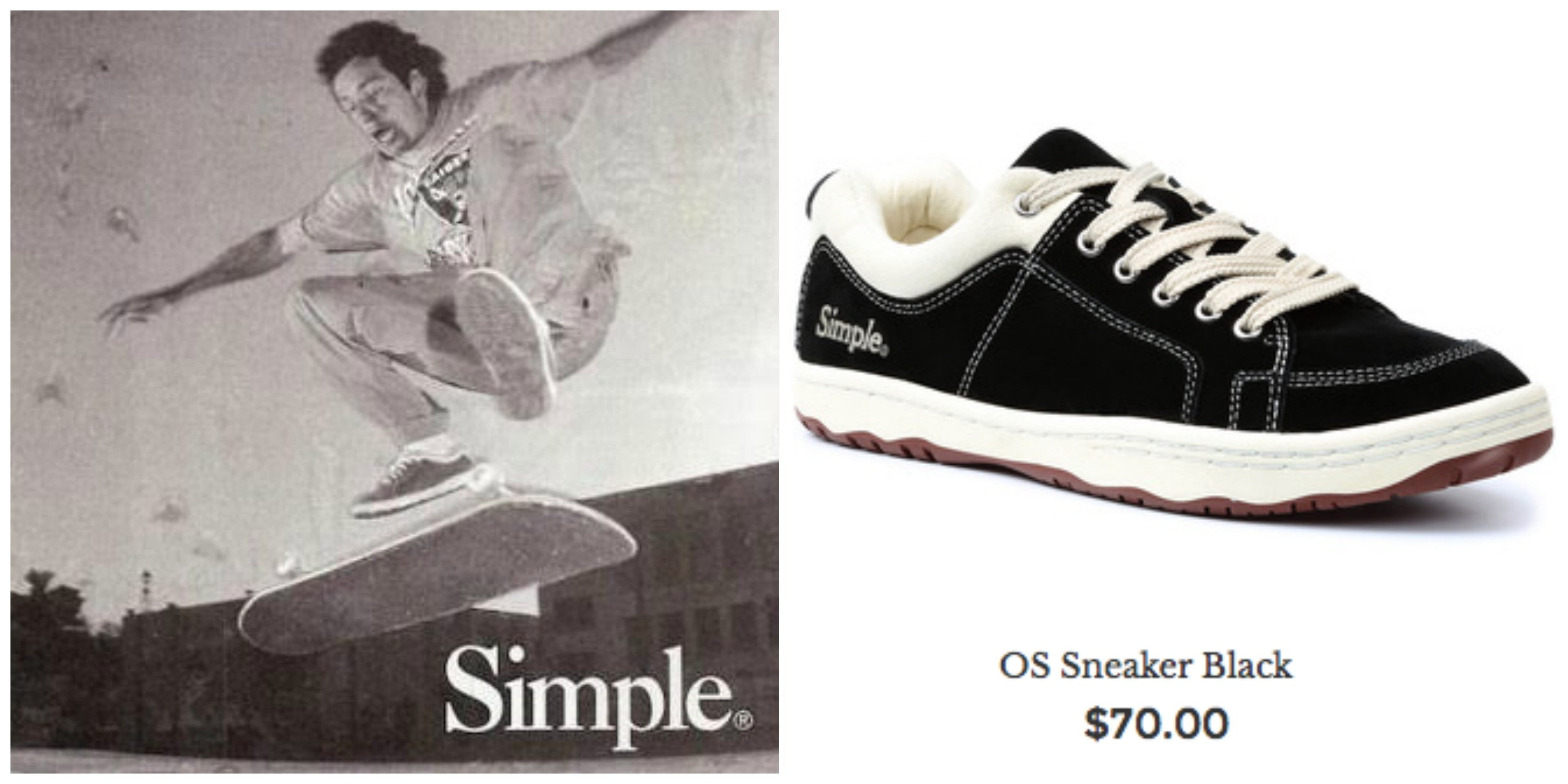 Mark Gonzales Simple Shoes Ad