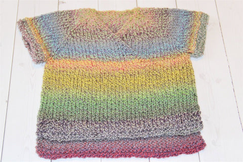 handknit baby sweater