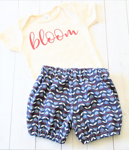 infant bloomers set