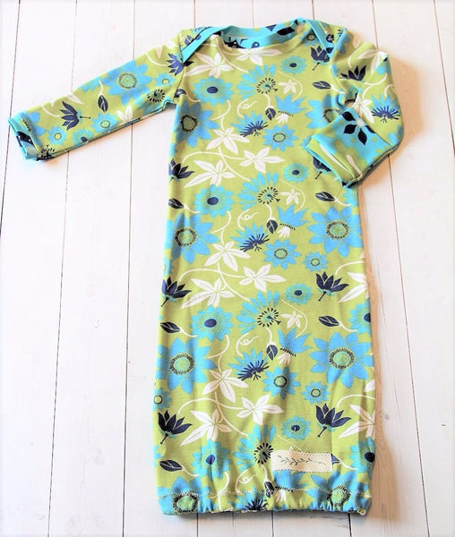 organic cotton infant gown