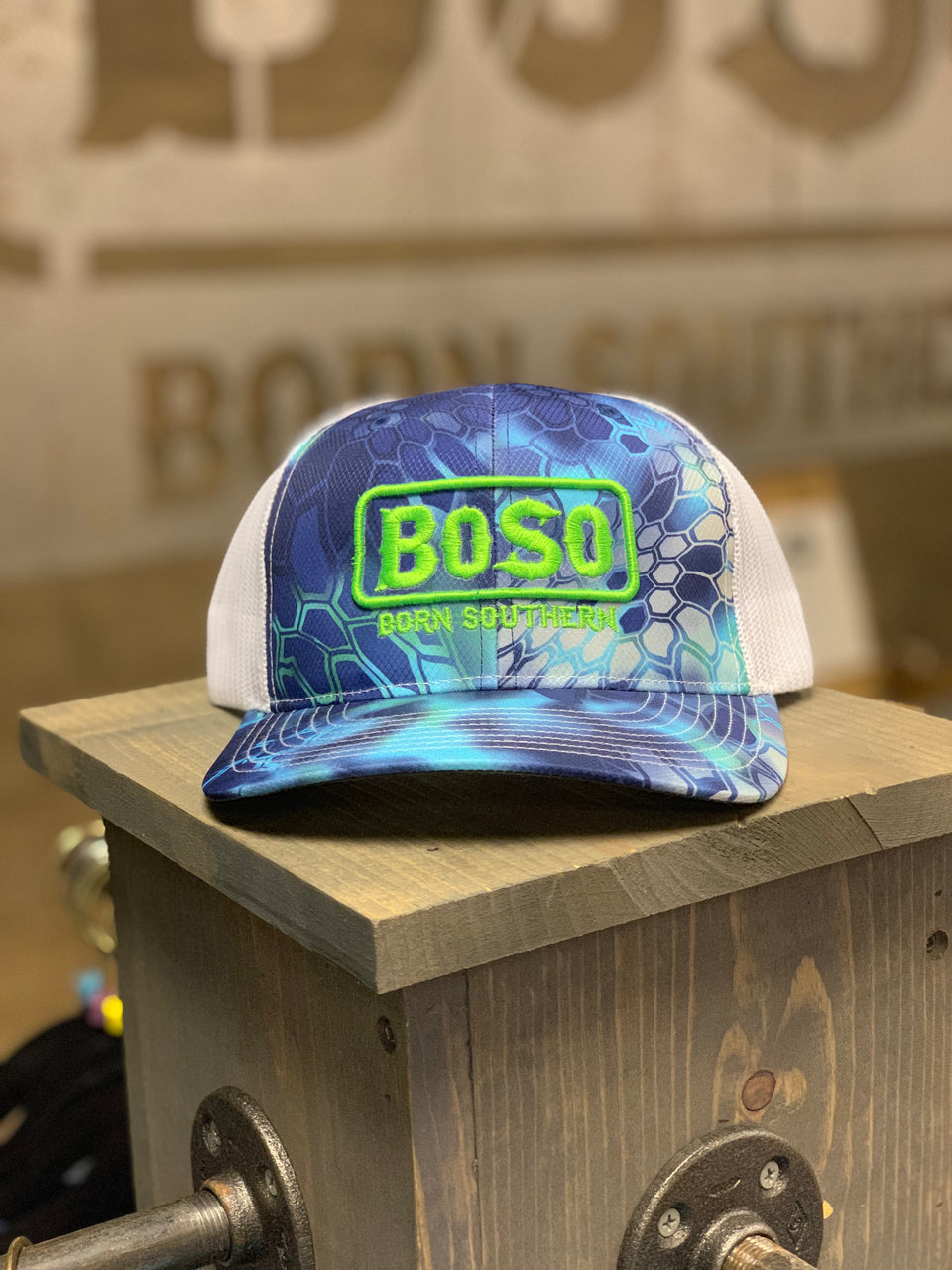 BoSo Angler Blue Gill Hat