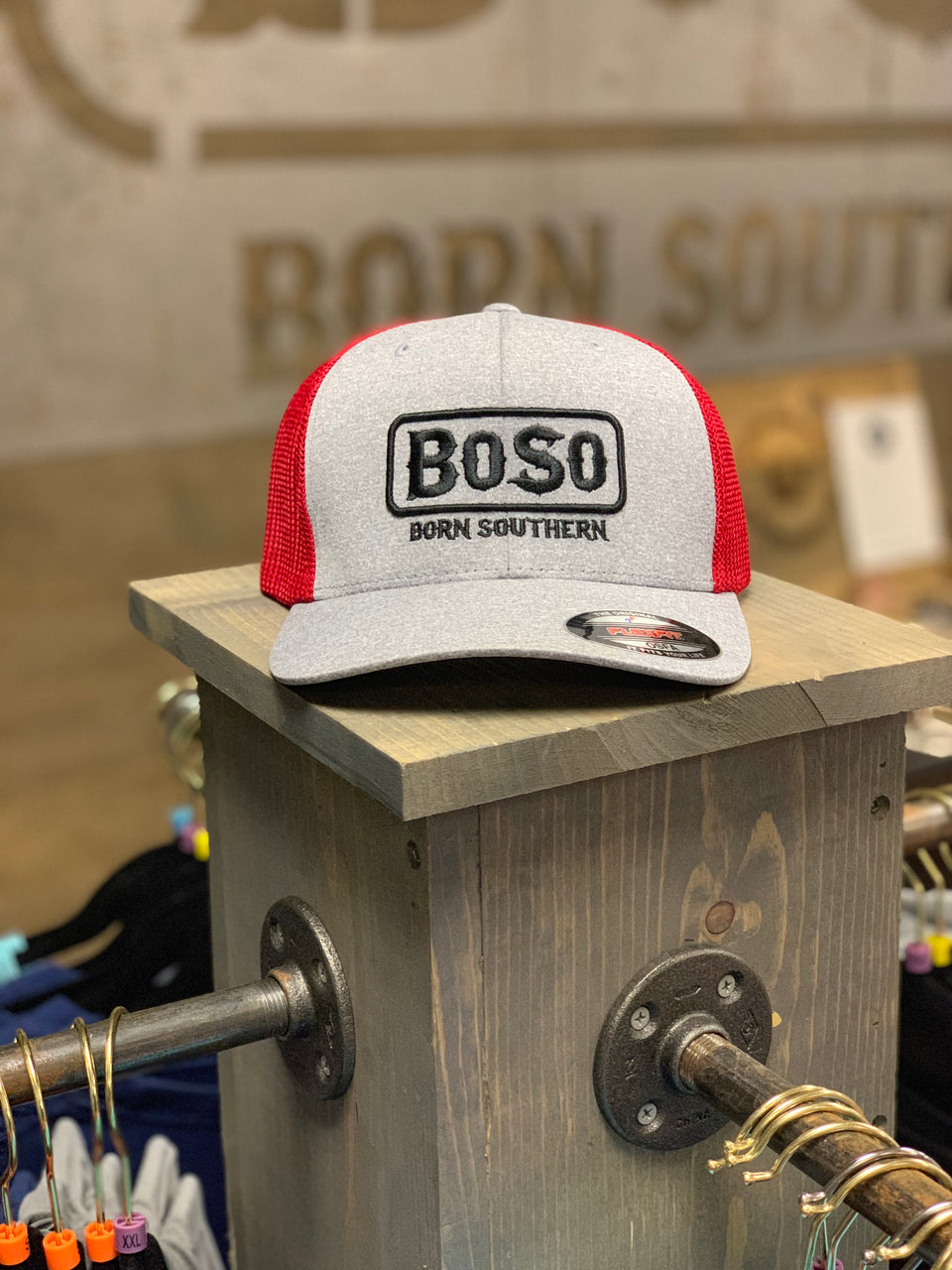 BoSo Born Southern Flex Fit Hat
