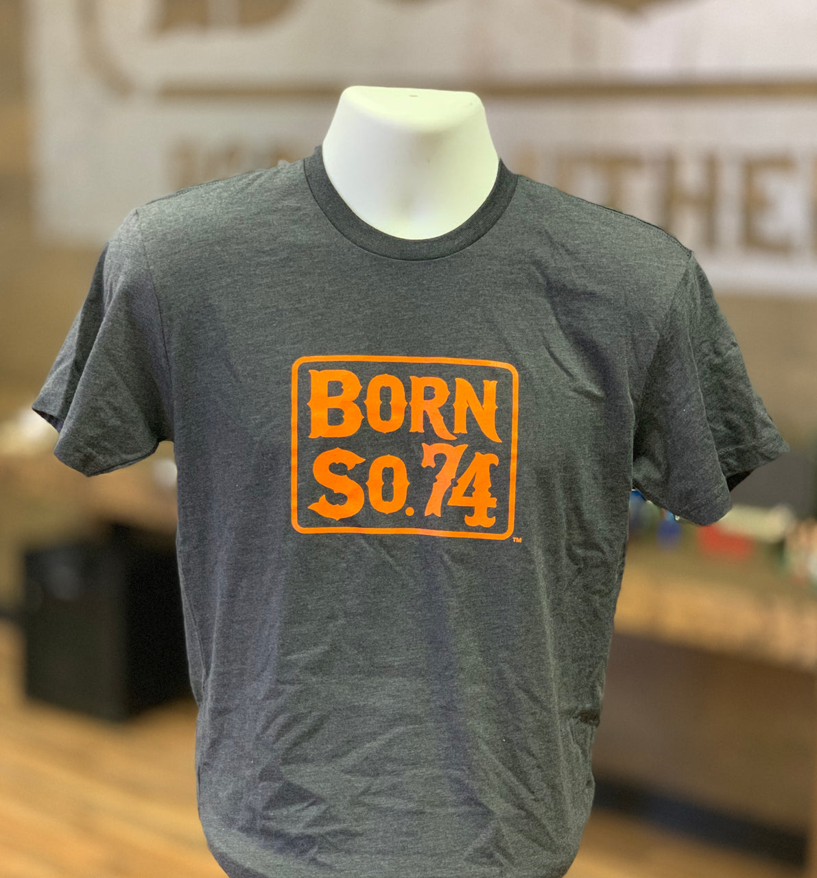 Original Born Southern 74 Logo T-Shirt