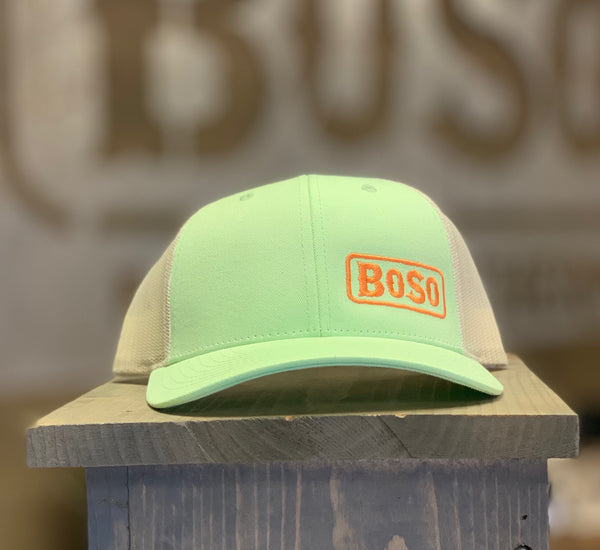 Pastel Hat with Lower Third BoSo Logo