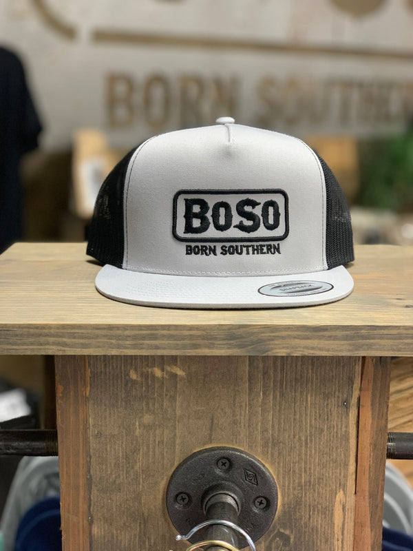 BoSo Flat Bill Trucker