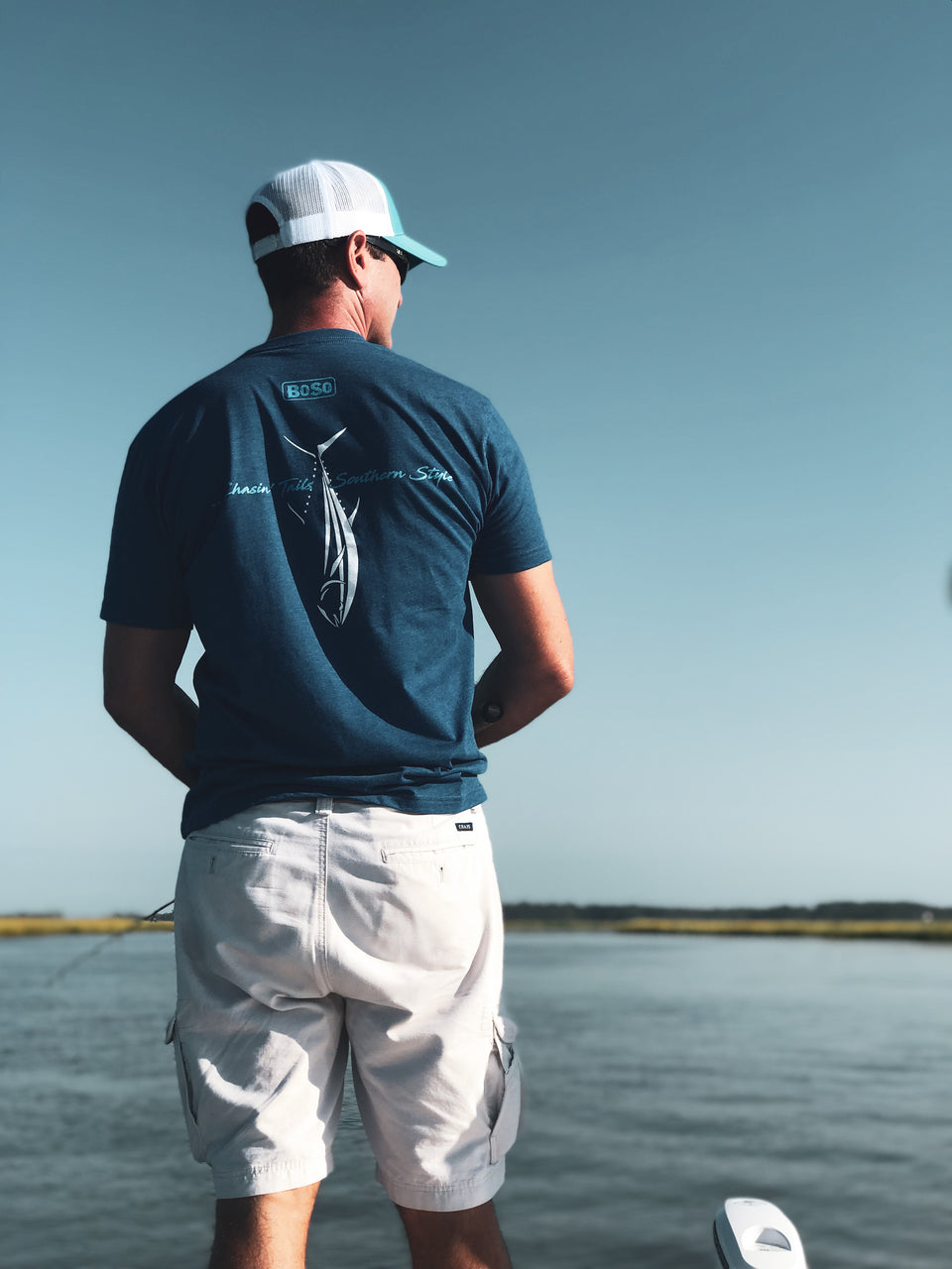 """Chasing Tails"" BoSo Angler T-Shirt"