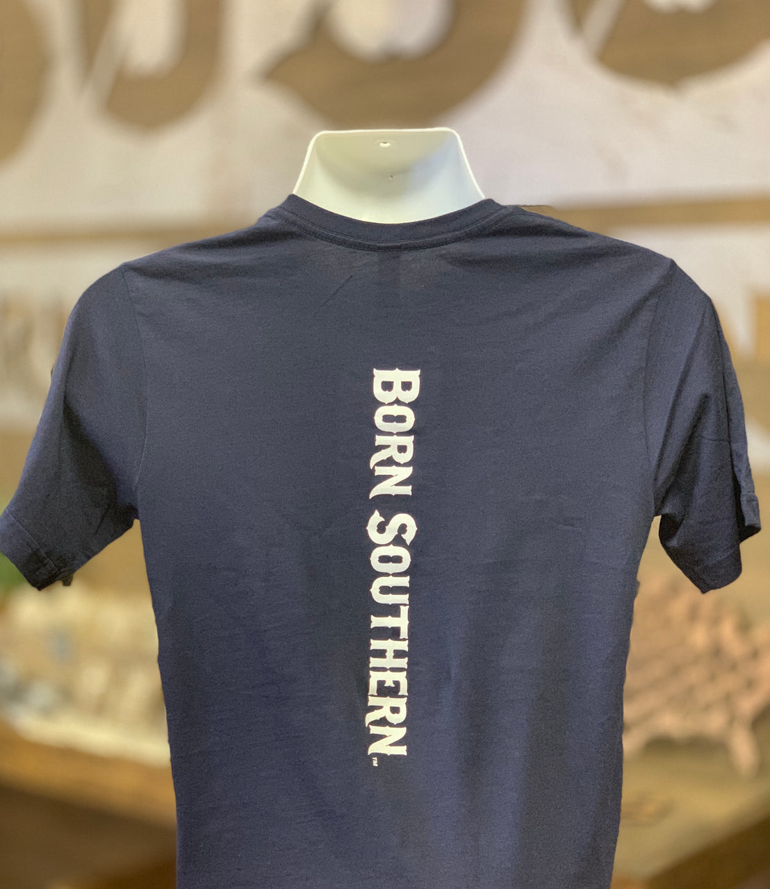 Classic Born Southern Logo Down the Spine T-Shirt