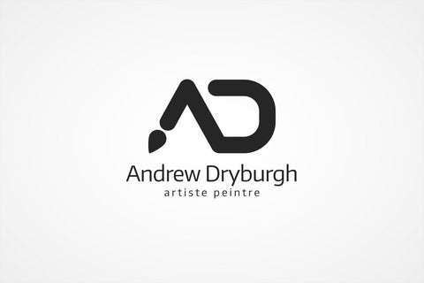 A and D Monogram Logo