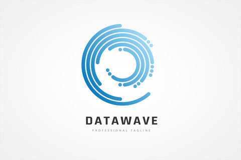 Data Wave Logo