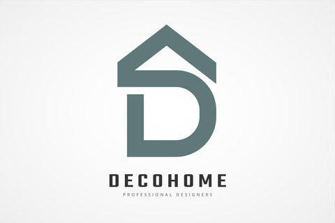 D Letter Decoration Home Logo