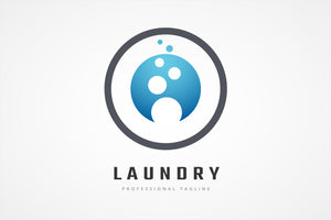 Laundry Washing Machine Logo