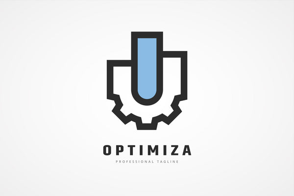 Optimization Gear Graph Logo