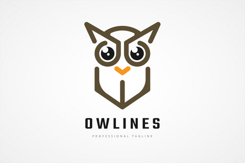 Simple Owl Logo