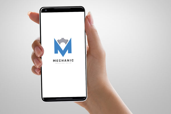 Mechanic M Letter Logo