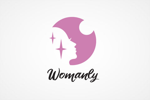 Woman Profile Logo