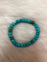 Stacked Turquoise Beaded Bracelet