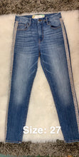 Rode'o High Rise Exclusive Trim Skinny Light Wash
