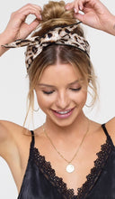 Leopard Print Multi Use Head band