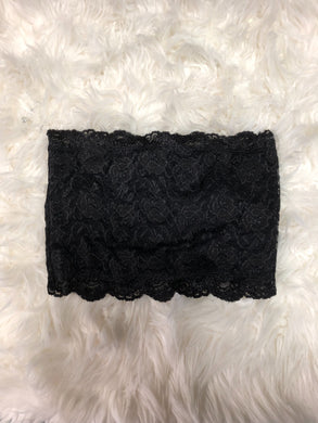By Together - Wide Lace Bandeau, Black