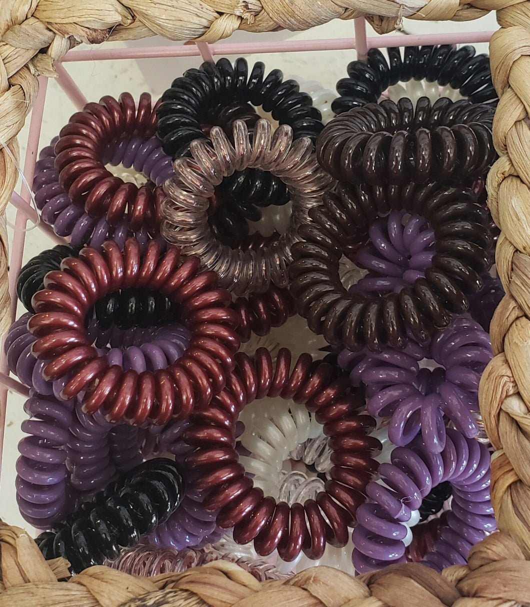 Swirly Do Hair Ties, multi