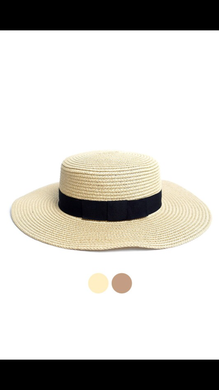 Flat Top Wide Brim Women's Hat