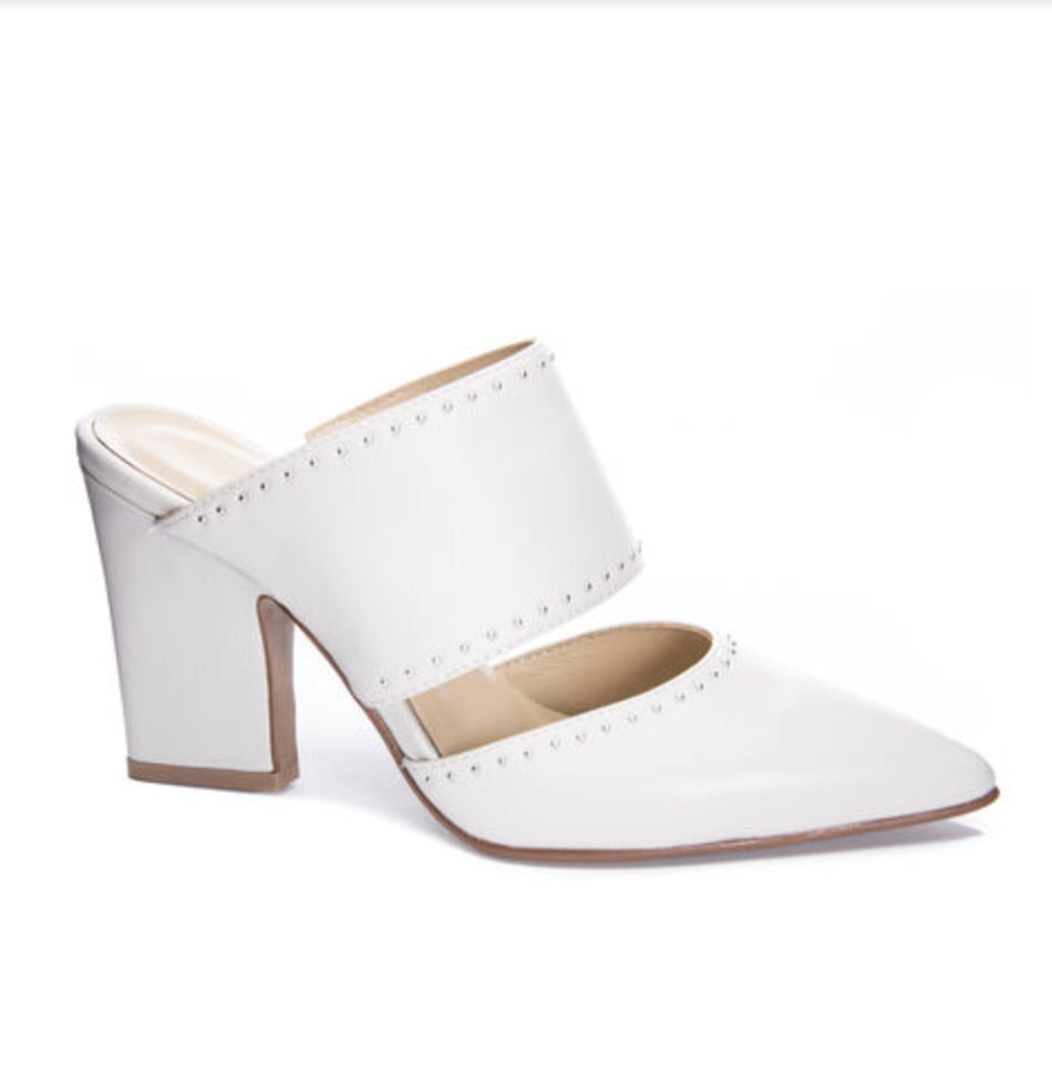 Figaro Sheep Mules, Cream