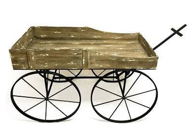 Metal Stagecoach Decor