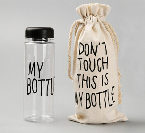 DON'T TOUCH.! - BOTOL MINUM EXCLUSIVE