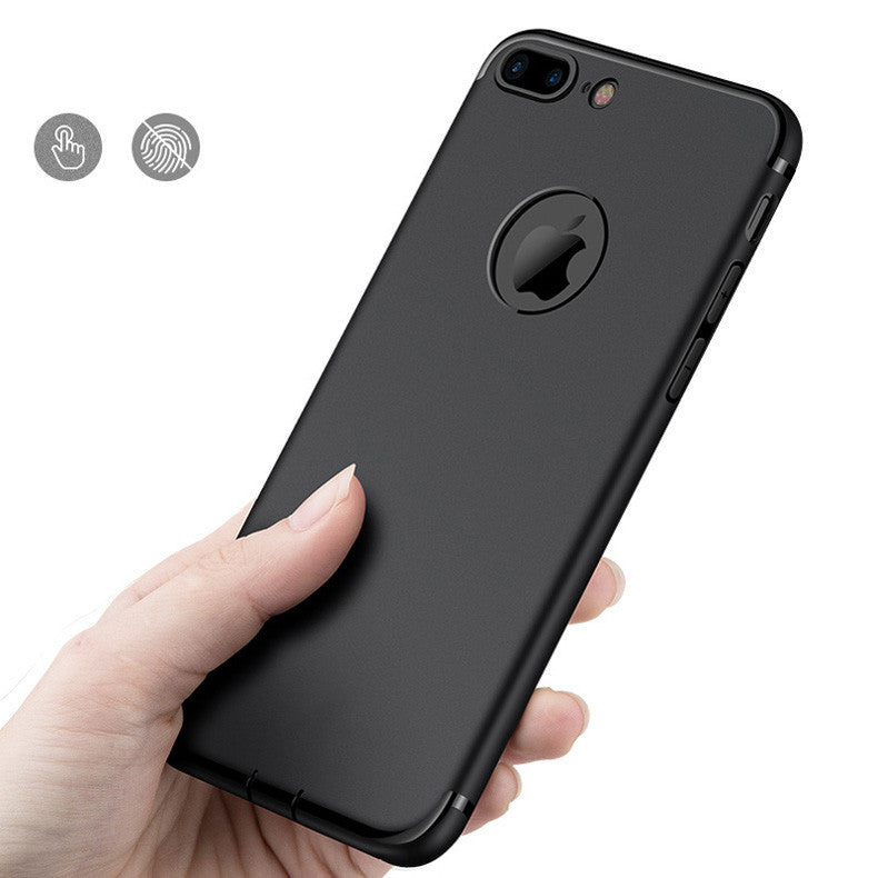 Case iPhone 5/5s/SE Slim Silicone Casing Black [Premium!]