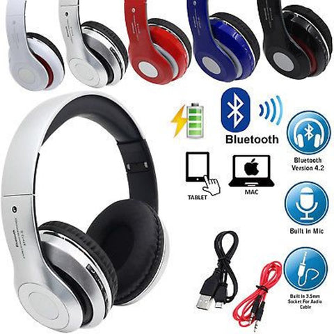 Headset Bluetooth Extra Bass