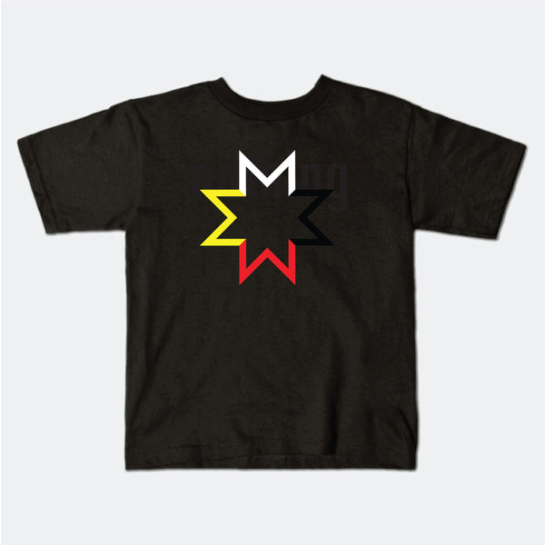 4 Directional Star American Apparel T-Shirt