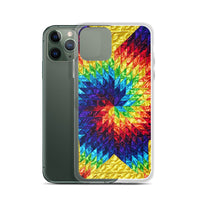Yellow Swirl - iPhone Case