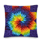 Purple Swirl - Premium Pillow