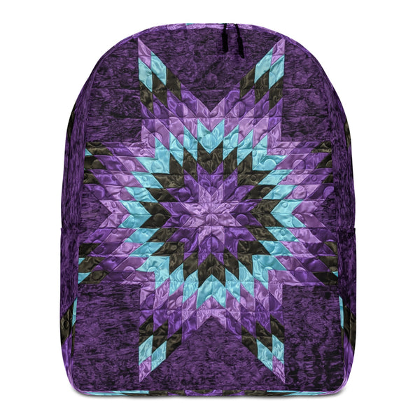 Purple Rain - Minimalist Backpack