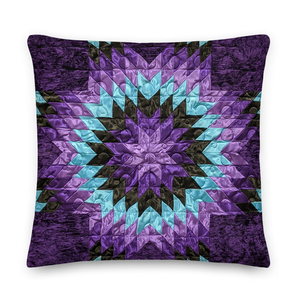 Purple Rain - Premium Pillow