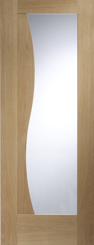 XL Joinery Oak Emilia with Clear Glass