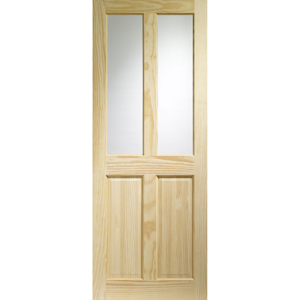 XL Joinery Clear Pine Victorian with Clear Glass