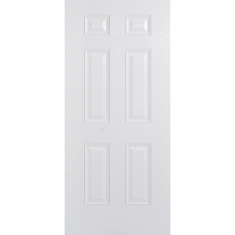 LPD Colonial 6 Panel, White & white