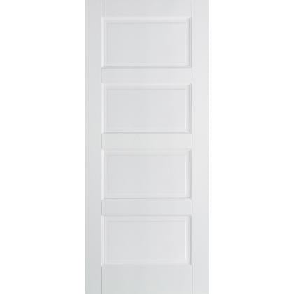 LPD White Contemporary 4 Panel