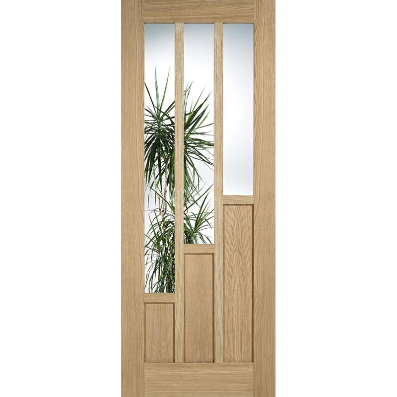 LPD Oak Coventry with Clear Glass